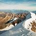 Gipfelgrat des Weissmies am späten Nachmittag!