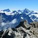 Auf dem Gipfel - Blick nach Osten.