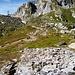 Die Ruine der alten Capanna Cristallina - 4 x musste die Hütte nach Zerstörung durch Lawinen neu erstellt werden