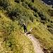 Im Aufstieg zur Silvrettahütte SAC. Heiss war's!