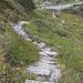 Der Hüttenweg ist de facto eine schier unendliche Steintreppe