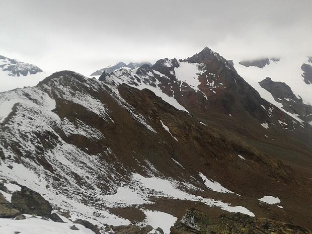 hintere guslarspitze aufstieg