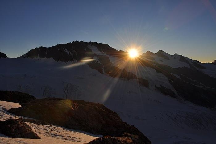 sunrise auf deutsch