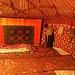 ... schlage ich mein Nachtlager in der Jurte auf und träume von den wilden Bergen Kirgistans
