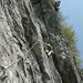 3. Seillänge oberhalb Aufschwung