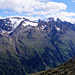 Panorama Süd vom Tiefenbachgletscher aus auf den Ramolkamm bis (ganz hinten) zum Similaun