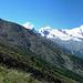 die Alpenblumen-Promenade  gemütlicher Start, es gibt halt viel zu erzählen wenn man sich länger nicht gesehen hat