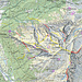 Gelb = T4 Blau = T5 Rot = T6 Die normalen Wanderwege sind meist T2 bis T3 Pinker Kreis klein = Wasserstellen Violetter Kreis gross = Outdoor Übernachtung Mehr unter: [http://www.scout-out.ch/pdf/fluebrig.pdf fluebrig.pdf]
