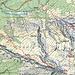 Rot= Original GPX Track<br />Blau= Schlüsselstellen<br />Grün= Bessere Route