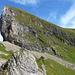 Der Abstieg vom Chli Gumen: Steil bis vertikal