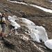 Lawinenschnee erschwert zur Zeit noch den Aufstieg zum Lütispitz