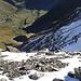 Die Alpeli-Route wäre viel direkter als der Umweg via Panixerpass, doch es liegt noch Schnee drin.