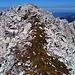 Grat mit Ruchen-Gipfel im Hintergrund