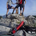 Christoph, Reiner und ich am Gipfel der Drachenwand.