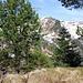Gipfelstein Glaubenstock mit Blick zum Rickhubel
