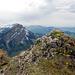 Gipfel Risetestock. Links Schimbrig