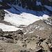 Hier verlassen wir den Grat und steigen zum Lagginhorn Gletscher ab.