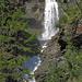 erster Blick auf den Wasserfall Pichiour