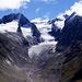 Der Gaisbergferner wie alle Gletscher schon stark zurückgegangen, aber immer noch imposant.