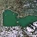 Namenloser Herzsee unterhalb der Pfulwe/Fluepass