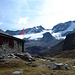 Vadret da Grialetsch mit gleichnamiger Hütte