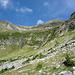 Alp de Ganan: links Piz del Largè über Cascinel de Ciar