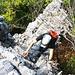 Klettern am Felsturm, die Tour bot so einige Überraschungen!