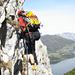 Ich in einem Steilaufschwung (Foto: Reiner Beck)