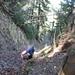 Der besagte kurze Klettersteig beim Abstieg