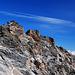 Schöne Felsformationen am Südostgrat der Laaser Spitze
