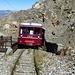 Endstation der Tram du Mont Blanc