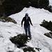 Im Abstieg vom Gipfel (Foto: Reiner Beck)