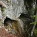 Etwas ungemütlicher Biwakplatz rechts der ersten Steilstufe