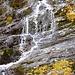 Wasserspiele am Weg von der Cap. Campo Tencia zur Cap. Alpe Sponda