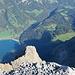 2000m-Tiefblick zum Klöntalersee