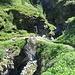 Natürliche Brücke auf dem Schluchtweg
