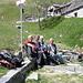 Riposino all'Alpe Verzasco...fine gita!