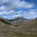Blick hinunter ins Val Funtauna<br />durch dieses Tal führt der lange Hüttenweg aus dem Engadin hinauf