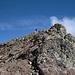 der Gipfel des Piz Padella