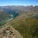 Das Gurgler Tal mit den Stubaier Bergen - bald wird über diese Bergflanken wieder der Skizirkus toben ...