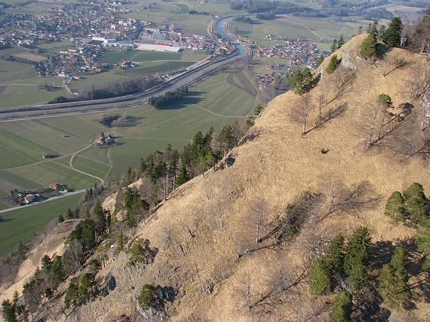 linke obere Ecke des Schnappenlahners [ext.Perspekt.]