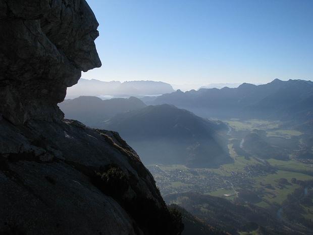 Felseinschnitt am Hochlerch (nordseitig)
