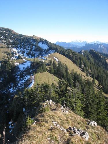 Gipfel Zwölferspitz, Blickrichtung Moarbichl