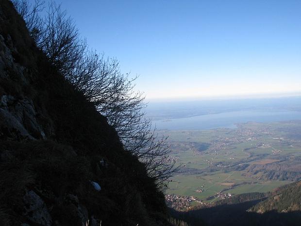 Abstieg Zwölferspitz, Blick nach Nordwesten