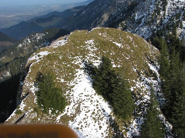 Zwölferspitzgipfel von oben, Westen [ext. Perspekt.]