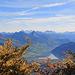 oberhalb Blatten herbstlicher Blick ins Swiss Knife Valley