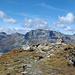 """Panorama Piz Chüern<br /><br />auf dem """"Gipfel"""" oder besser Aussichtskanzel"""