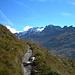 """""""Höhenweg"""" im Val Fex"""