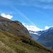 unterwegs im Val Fex<br /><br />links oben der Piz Chüern
