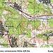 Das ist die genauste Karte (1:100000) welche ich zum Dealul Bălăneşti gefunden habe. Sie stammt aus dem Jahre 1970 aus sowjetischer Produktion. <br /><br />Einige Feldwege sind nicht auf der Karte eingezeichnet, doch meine Route habe ich rot markiert. Die Gipfelhöhe stimmt ebenfalls nicht mehr, nach neuesten Messungen hat der Berg eine Höhe vom 429,5m. Zudem führt der Weg heutzutage im unteren Teil nicht mehr durch Wald, sondern durch Obstplantagen.